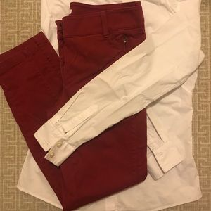 Loft Sateen Pants